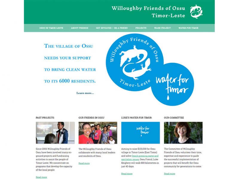 Willoughby Friends of Ossu